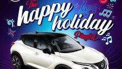 Nissan Juke presenta la Happy Holiday Playlist per Spotify