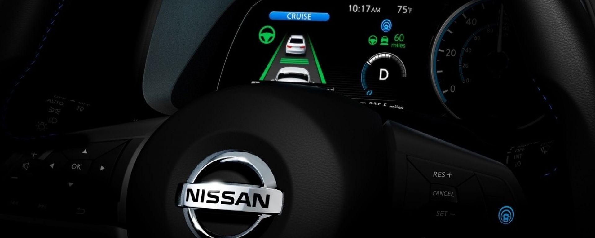 Nissan Leaf 2018, avrà il sistema Propilot 1