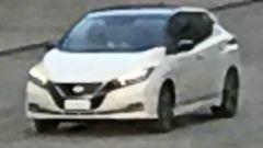 Nissan Leaf 2018: vista 3/4 frontale
