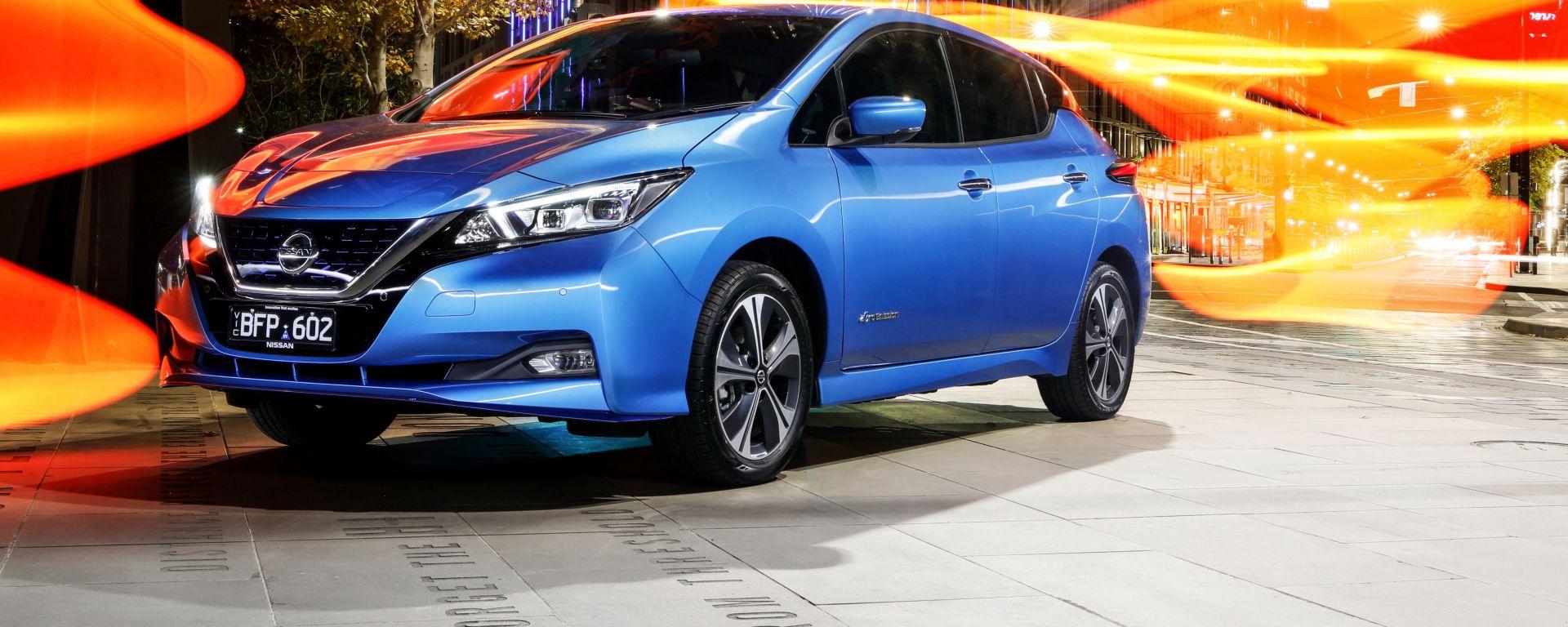 """Nissan Leaf 2021 con segnalatore acustico """"Canto"""""""