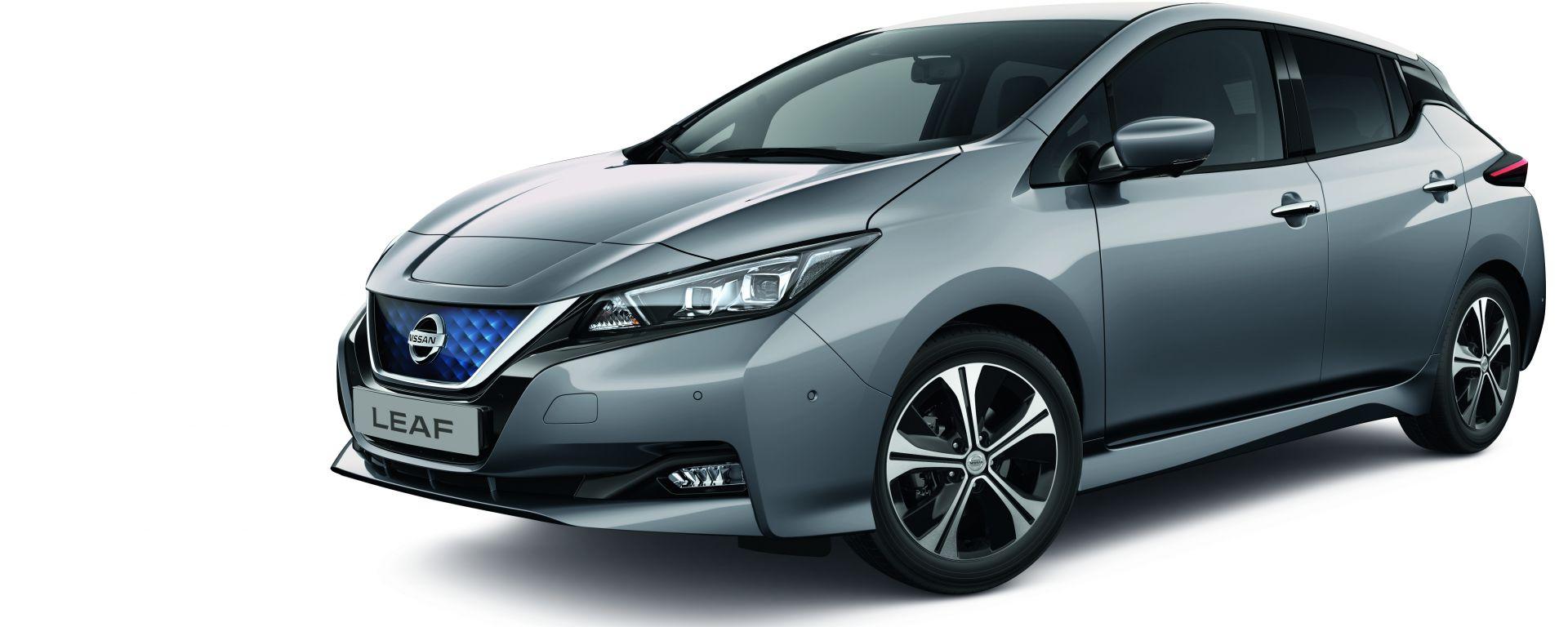 Nissan Leaf MY21: più tecnologia, più sicurezza. Tutte le novità