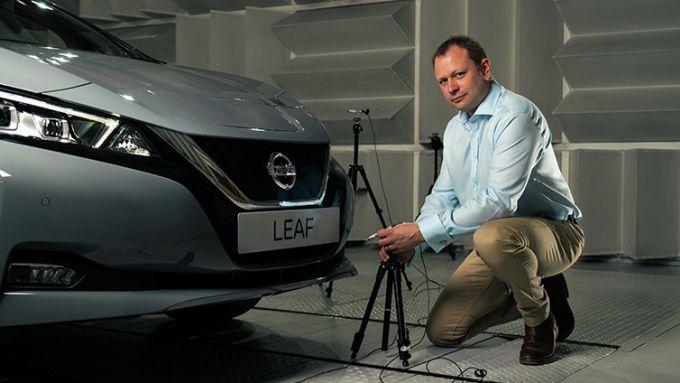 Nissan Leaf 2021: un segnalatore acustico che ''canta''