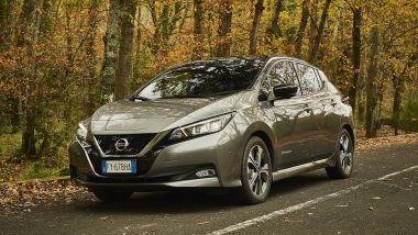 Nissan Leaf 62 kWh, 385 km di autonomia