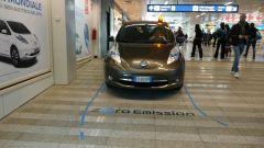 Nissan Leaf a Roma Fiumicino