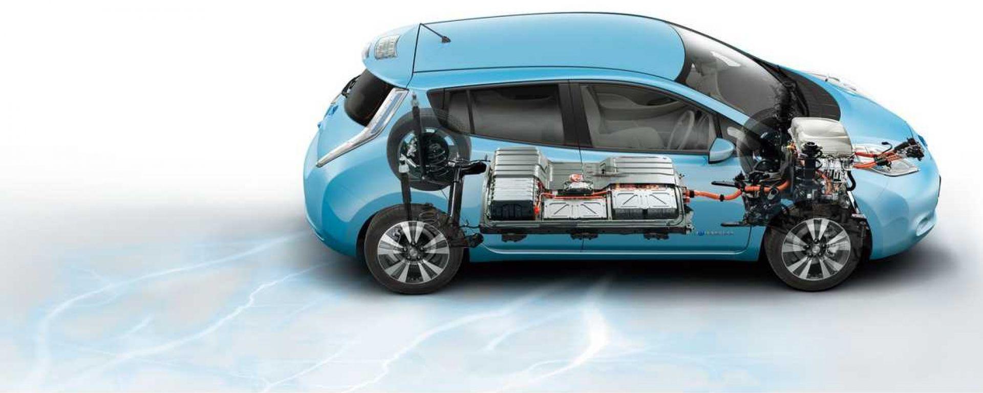 Nissan Leaf, batterie raffreddate ad aria