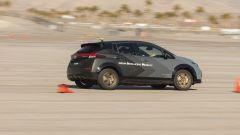 Nissan Leaf e+ con sistema e-4ORCE in fase di test a Las Vegas