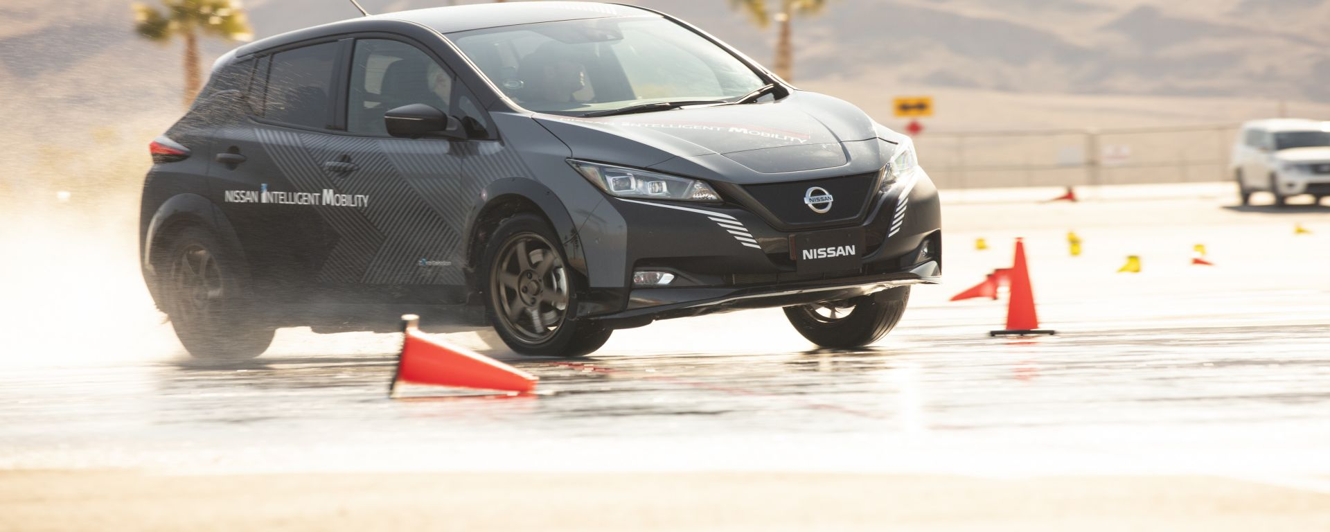 Nissan Leaf e+ con sistema e-4ORCE
