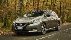 Nissan Leaf e+, nuove batterie da 62 kWh