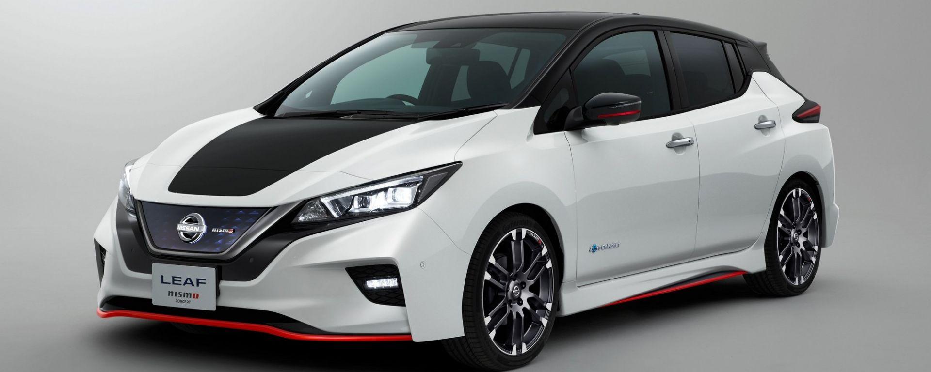 Nissan Leaf Nismo: a Tokyo la concept che la anticipa