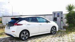 Nissan Leaf e progetto EVA+