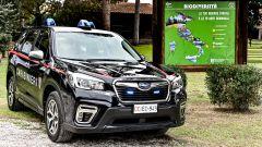 Nissan Leaf e Subaru Forester e-Boxer all'Arma dei Carabinieri