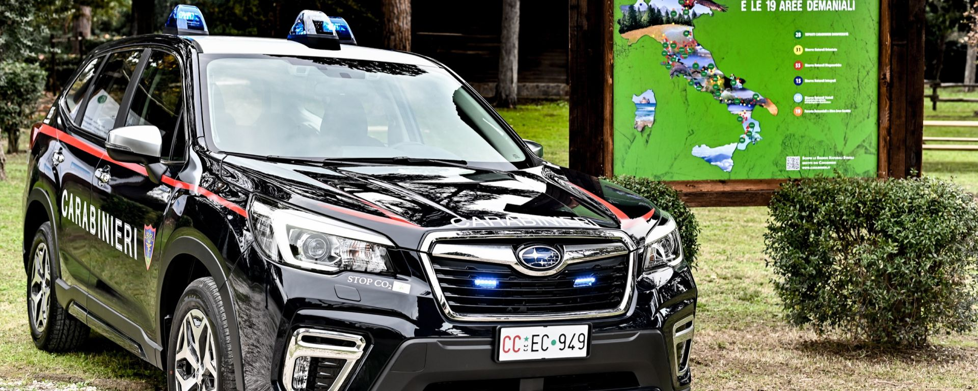 Nissan Leaf e Subaru Forester per i Carabinieri: la cerimonia a Roma