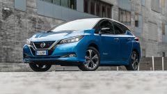 Nissan Leaf e+ Tekna: 3/4 anteriore