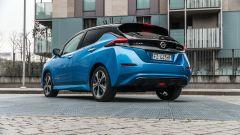 Nissan Leaf e+ Tekna: 3/4 posteriore