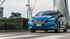 Nissan Leaf e+ Tekna: alla prova in città