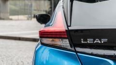 Nissan Leaf e+ Tekna: badge posteriore