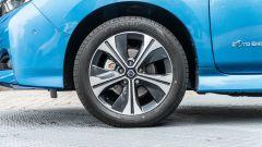 Nissan Leaf e+ Tekna: dettaglio cerchio in lega