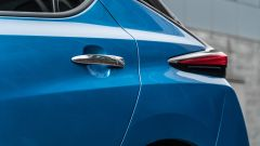 Nissan Leaf e+ Tekna: dettaglio della fiancata