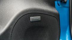 Nissan Leaf e+ Tekna: gli altoparlanti Bose