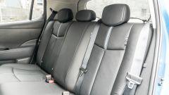 Nissan Leaf e+ Tekna: il divanetto posteriore