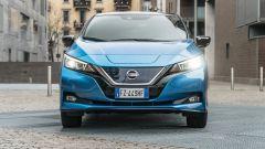 Nissan Leaf e+ Tekna: il frontale