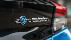 Nissan Leaf e+ Tekna: il logo zero emission