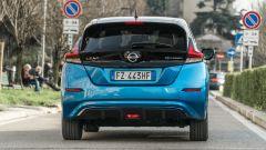 Nissan Leaf e+ Tekna: il posteriore