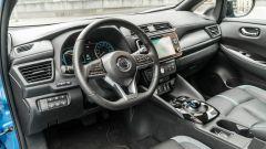Nissan Leaf e+ Tekna: il posto di guida