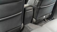 Nissan Leaf e+ Tekna: il tunnel posteriore
