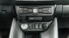 Nissan Leaf e+ Tekna: la console centrale