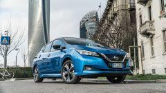 Nissan Leaf e+ Tekna: l'anteriore