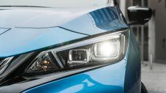 Nissan Leaf e+ Tekna: le luci LED