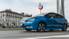 Nissan Leaf e+ Tekna: passaggio