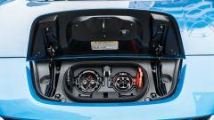 Nissan Leaf e+ Tekna: ricarica AC e DC