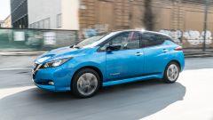 Nissan Leaf e+ Tekna: vista laterale
