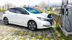 Nissan Leaf, leader mondiale del mercato di auto elettriche