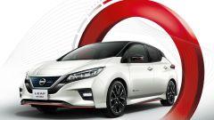 Nissan Leaf Nismo, l'elettrica indossa il vestito da corsa - Immagine: 5