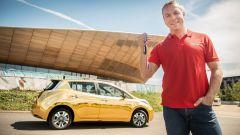 Nissan: la prima Leaf d'oro a Max Whitlock, ginnasta britannico - Immagine: 3