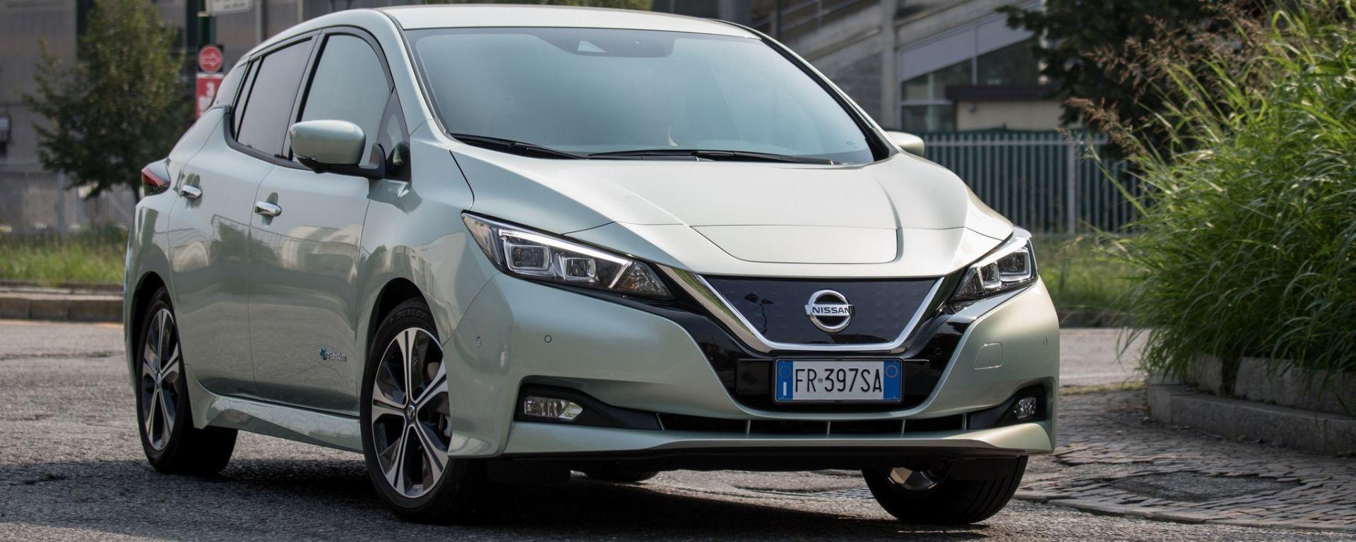 Nissan Leaf Tekna, 150 CV: il futuro della guida è già qui