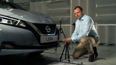"""Nissan Leaf: un segnalatore acustico che """"canta"""""""