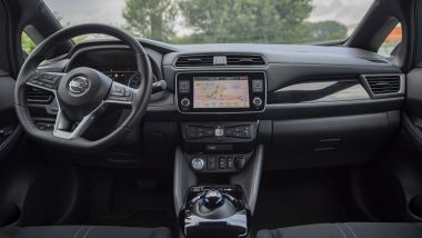 Nissan Leaf10 2021: gli interni