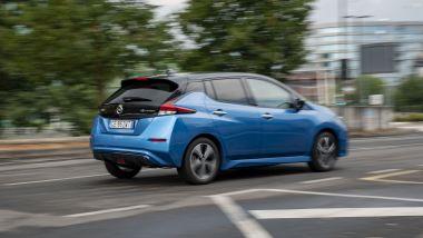 Nissan Leaf10 2021: per le strade di Milano