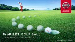 Nissan mette la guida autonoma in una pallina da golf