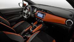 Nissan Micra 2017, gli interni della quinta generazione
