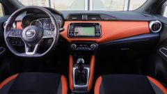 Nissan Micra 2017: gli interni possono avere rivestimenti in pelle