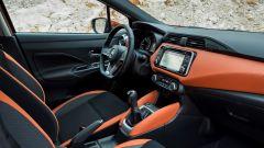 Nissan Micra 2017, gli interni: sedili ergonomici anti-affaticamento