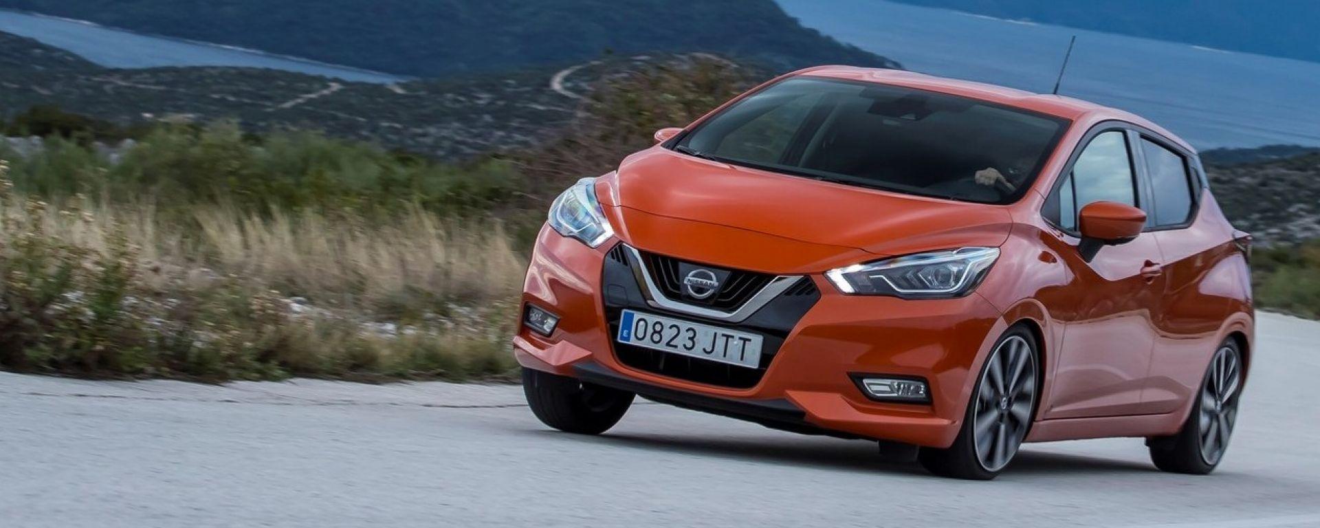 Nuova Nissan Micra 2017: prova, dotazioni, prezzo [VIDEO]