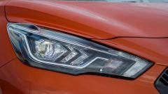 Nissan Micra 2017: luci diurne a LED
