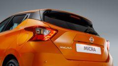 Nissan Micra 2017, posteriore