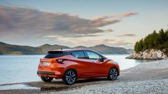 Nissan Micra 2017: spoiler posteriore al tetto